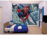 Fototapeta 3D Spiderman Walltastic 43824, 305 x 244 cm Fototapety pro děti - Rozměr 244 x 305 cm