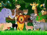 Fototapeta Zvířátka FTNS-2440, rozměry 360 x 270 cm Fototapety pro děti - Fototapety dětské vliesové