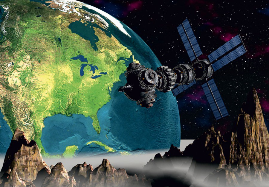 Fototapeta Vesmír FTNS-2443, rozměry 360 x 270 cm - Fototapety vliesové