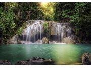 Fototapeta Vodopád v lese FTNS-2451, rozměry 360 x 270 cm Fototapety vliesové