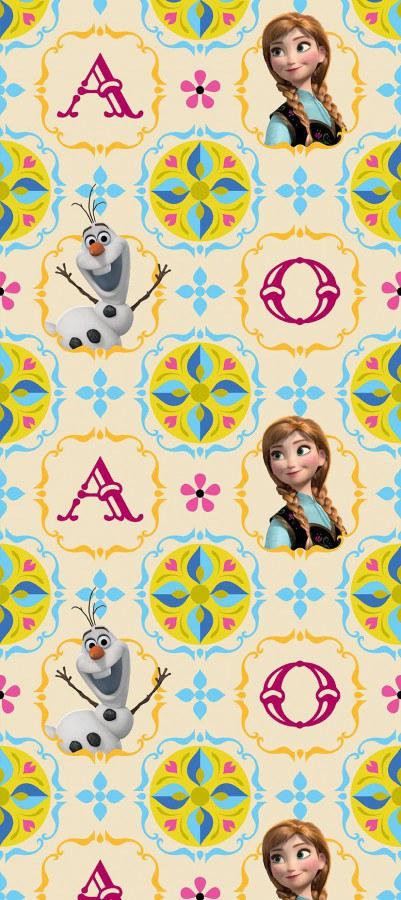 Vliesové dětské nekonečné tapety Disney Frozen WPD8023 - Akce