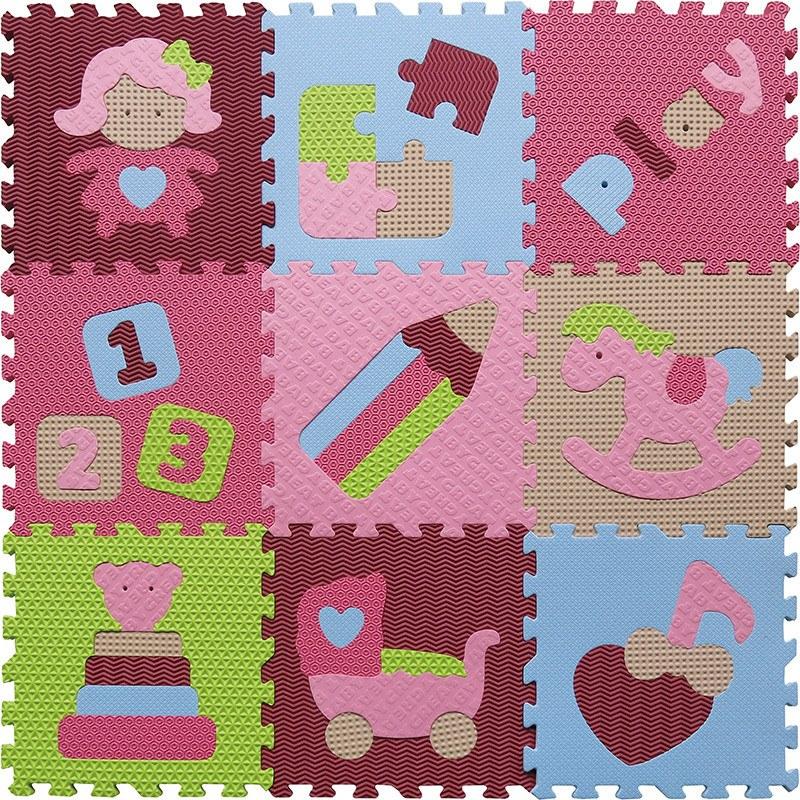 Pěnové puzzle - svět hraček 20968 - Akce