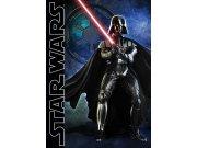 Dětský koberec Star Wars Vader, rozměry 95 x 133 cm Dětské koberce