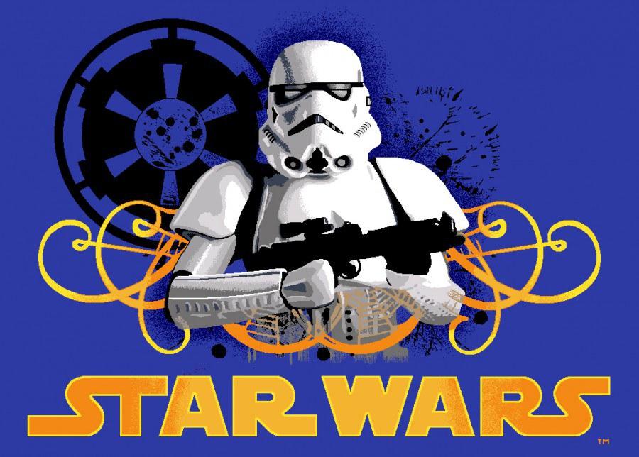 Dětský koberec Star Wars Stormtrooper, rozměry 95 x 133 cm - Dětské koberce