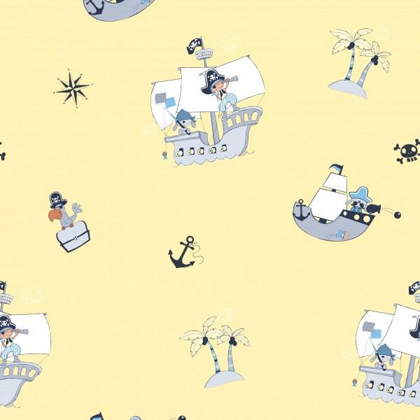 Dětská dekorační látka Bimbaloo 804675 - Tapety Bimbaloo