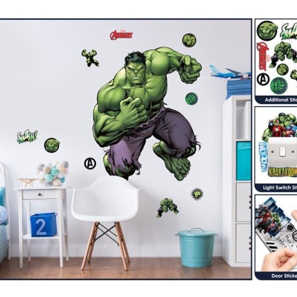 Samolepicí dekorace Walltastic Hulk 44289 - Dekorace Avengers
