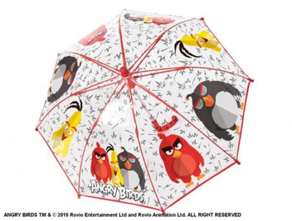 Deštník PVC Angry Birds - Deštníky pro děti