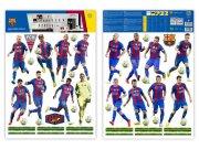 Maxi nálepka FC Barcelona team Dekorace Fotbalové