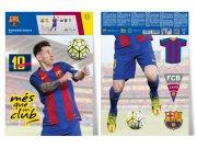 Dekorační nálepka FC Barcelona Messi Dekorace Fotbalové