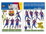 Dekorační nálepka FC Barcelona team Dekorace Fotbalové