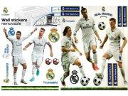 Maxi nálepka Real Madrid - Ronaldo - Piqué Dekorace Fotbalové
