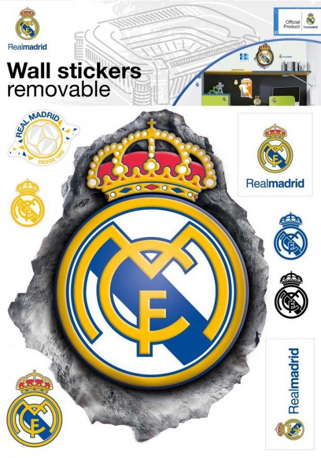 Dekorační nálepka Real Madrid znak - Dekorace Fotbalové