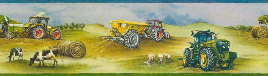 Bordury Kids & Teens traktor 293302 - Tapety Kids and Teens