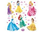 Samolepky na zeď Princezny DKS-1080 Dekorace Princezny