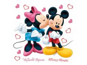Samolepky na zeď Minnie a Mickey DKS-1085 Dekorace Mickey Mouse