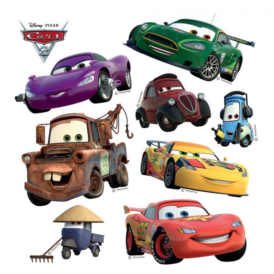 Samolepky na zeď Cars DKS-1089 - Dekorace Cars