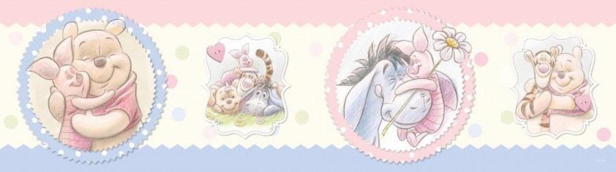 Samolepicí bordura Winnie The Pooh WBD8066 - Dekorace Medvídek Pú