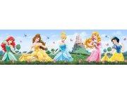 Samolepicí bordura Princess WBD8072 Dekorace Princezny
