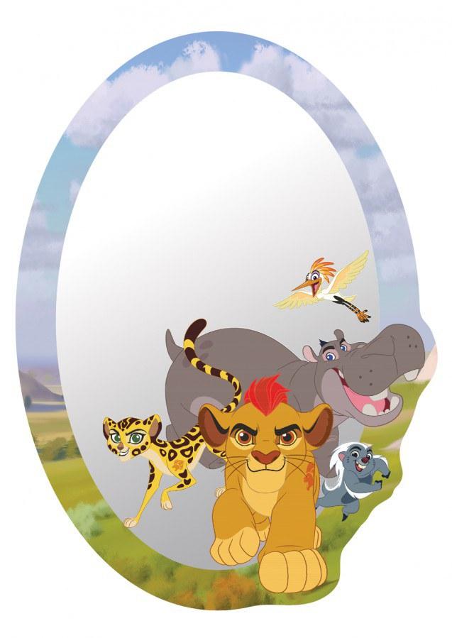Dekorace zrcadlo Lví Král DM-2120, 15x22 cm - Dekorace ostatní