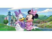 Fototapeta vliesová Minnie & Daisy FTDNH-5372, 202x90 cm Fototapety pro děti - Fototapety dětské vliesové