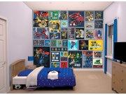 Fototapeta 3D Walltastic Transformers Robots 43831, 305 x 244 cm Fototapety pro děti - Rozměr 244 x 305 cm