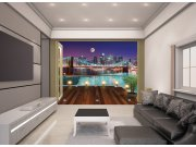Fototapeta 3D Walltastic Brooklynský most 43626, 305 x 244 cm Fototapety papírové