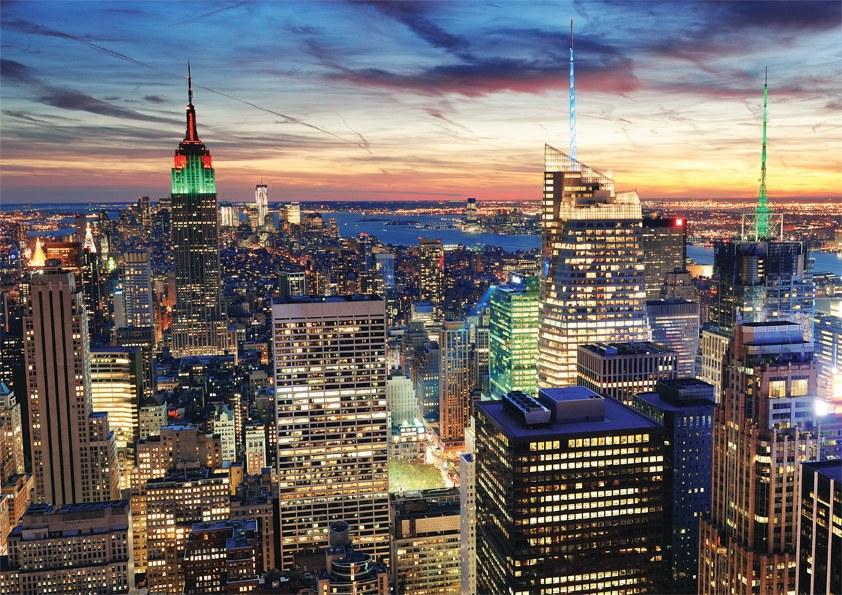 Fototapeta 3D Walltastic New York 43558, 305 x 244 cm - Fototapety papírové