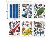 Samolepicí dekorace Walltastic Thunderbirds 43749 Dekorace ostatní
