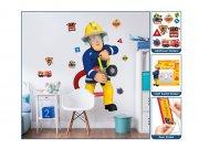 Samolepicí dekorace Walltastic Požárník Sam 44333 Dekorace Požárník Sam