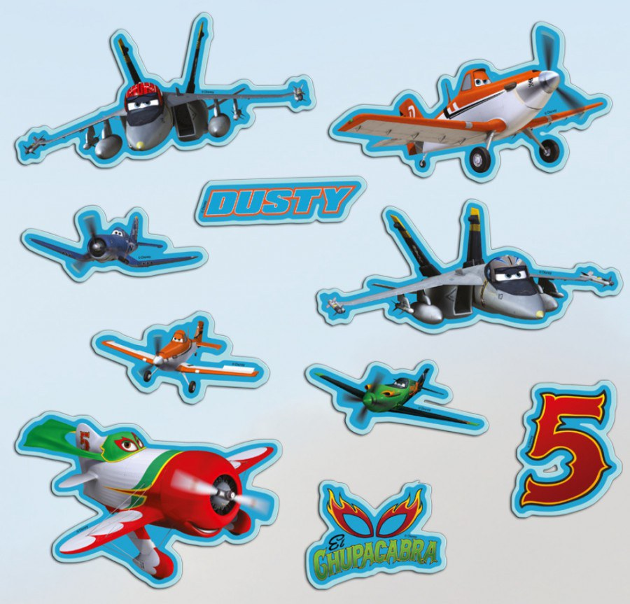 Samolepicí dekorace Planes 70270 - Dekorace Planes