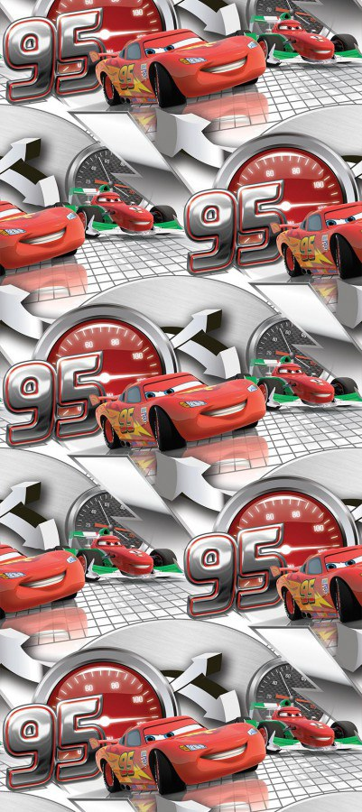 Tapeta vliesová Cars WPD9704, 0,53 x 10 m - Akce