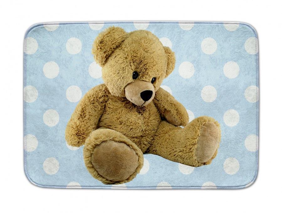 Dětský koberec Ultra Soft Medvědi modrý 06, 70 x 100 cm - Dětské koberce