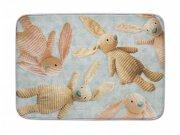 Dětský koberec Ultra Soft Králíci 244, 70 x 100 cm Dětské koberce