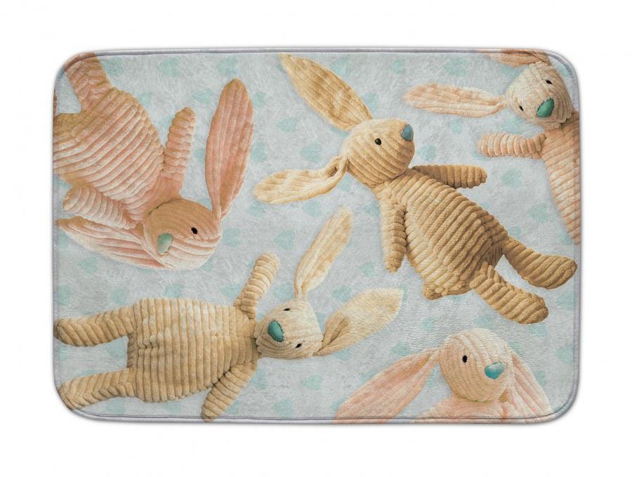 Dětský koberec Ultra Soft Králíci 244, 70 x 100 cm - Dětské koberce
