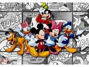 Fototapeta Mickey on light comicks FTDXXL-0260, rozměry 360 x 255 cm Fototapety pro děti - Rozměr 360 x 255 cm