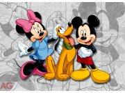 Fototapeta Mickey a Minnie FTDNM-5204, rozměry 160 x 110 cm Fototapety pro děti - Fototapety dětské vliesové