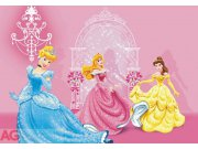Fototapeta Princezny na zámku FTDM-0286, rozměry 160 x 115 cm Fototapety pro děti - Rozměr 160 x 115 cm