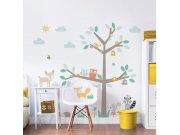 Samolepicí dekorace Walltastic Barevný strom 44647 Dekorace ostatní