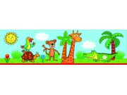 Samolepicí bordura Žirafa WBD8102 Dekorace ostatní