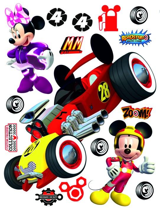 Samolepicí dekorace Mickey a Minnie DK-2307, 85x65 cm - Dekorace Mickey Mouse