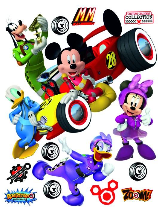 Samolepicí dekorace Mickey Mouse DK-2309, 85x65 cm - Dekorace Mickey Mouse