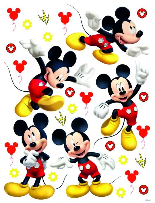 Samolepicí dekorace Mickey Mouse DK-2311, 85x65 cm - Dekorace Mickey Mouse