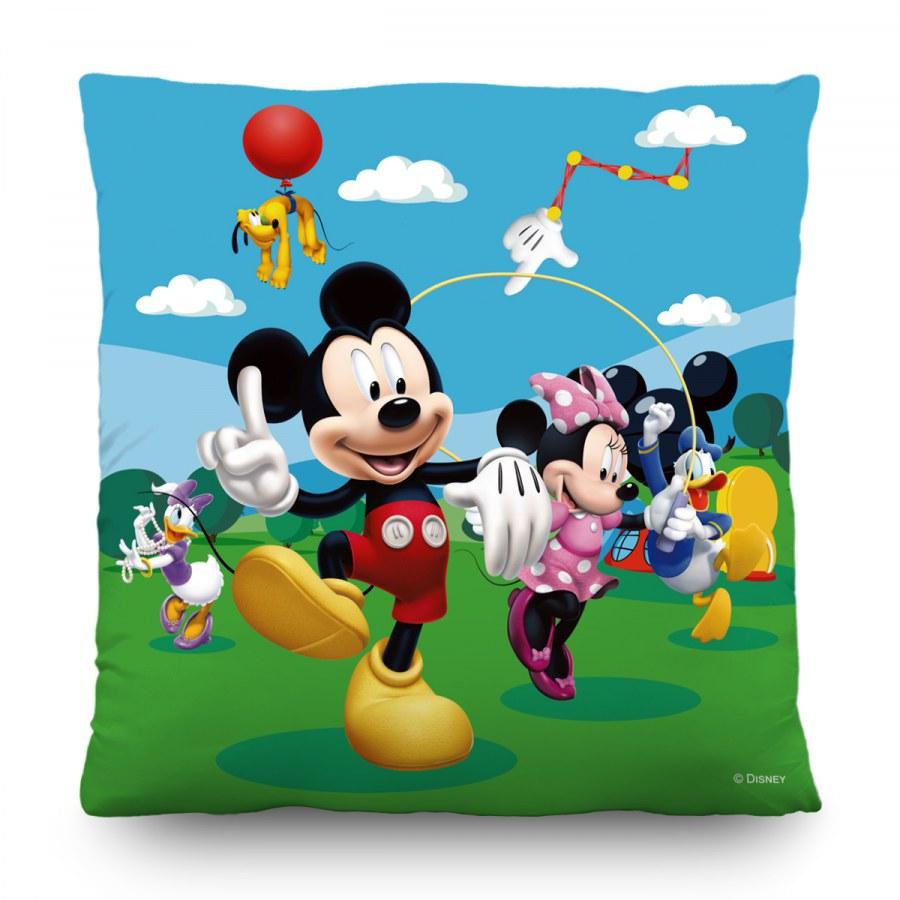 Dětský polštářek Mickey Mouse CND-3117, 40 x 40 cm - Dekorace Mickey Mouse