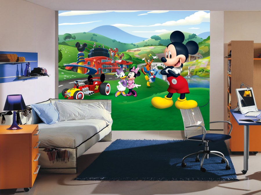 Fototapeta vliesová Mickey Mouse FTDNXXL-5071 - Fototapety dětské vliesové