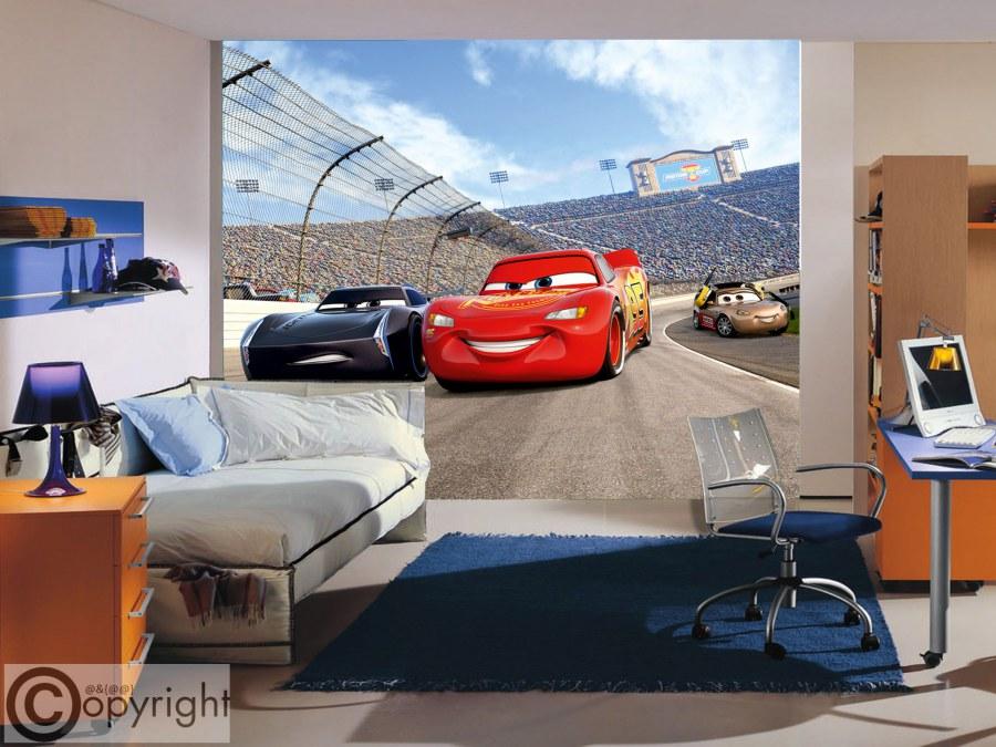 Fototapeta vliesová Cars FTDNXXL-5072 - Fototapety dětské vliesové