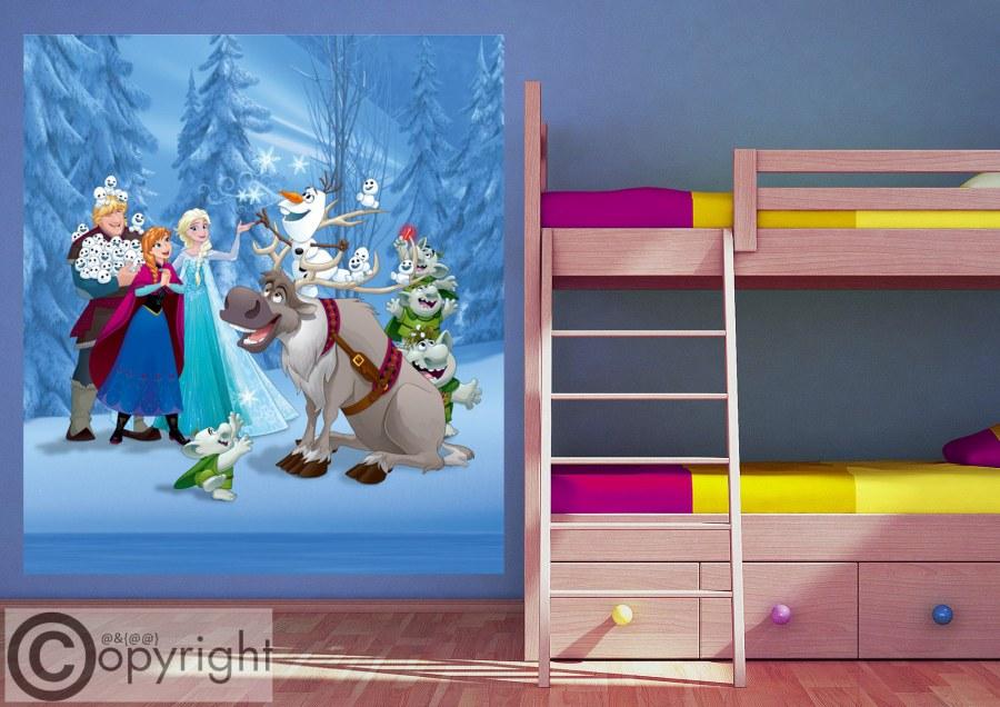 Vliesová fototapeta Frozen FTDNXL-5149, 180 x 202 cm - Fototapety dětské vliesové