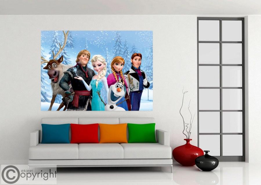 Fototapeta vliesová Frozen FTDNM-5260 | 160x110 cm - Fototapety dětské vliesové