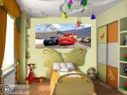 Fototapeta vliesová Disney Auta FTDNH-5376, 202x90 cm Fototapety pro děti - Fototapety dětské vliesové