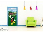 Fototapeta vliesová Mickey Mouse FTDNV-5480, 90x202 cm Fototapety pro děti - Fototapety dětské vliesové
