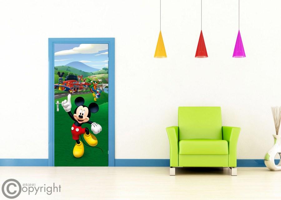 Fototapeta vliesová Mickey Mouse FTDNV-5480, 90x202 cm - Fototapety dětské vliesové